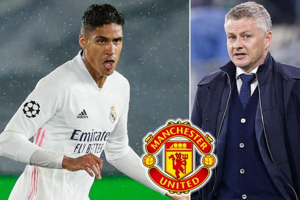 Manchester United are close to agreeing with Rafael Varane.