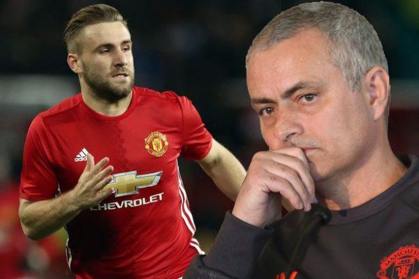 Jose Mourinho reveals about Luke Shaw.