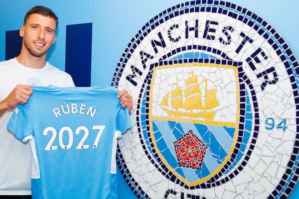Manchester Citydefender Ruben Dias hasreached an extension of his contract withManchester Cityuntil 2027.